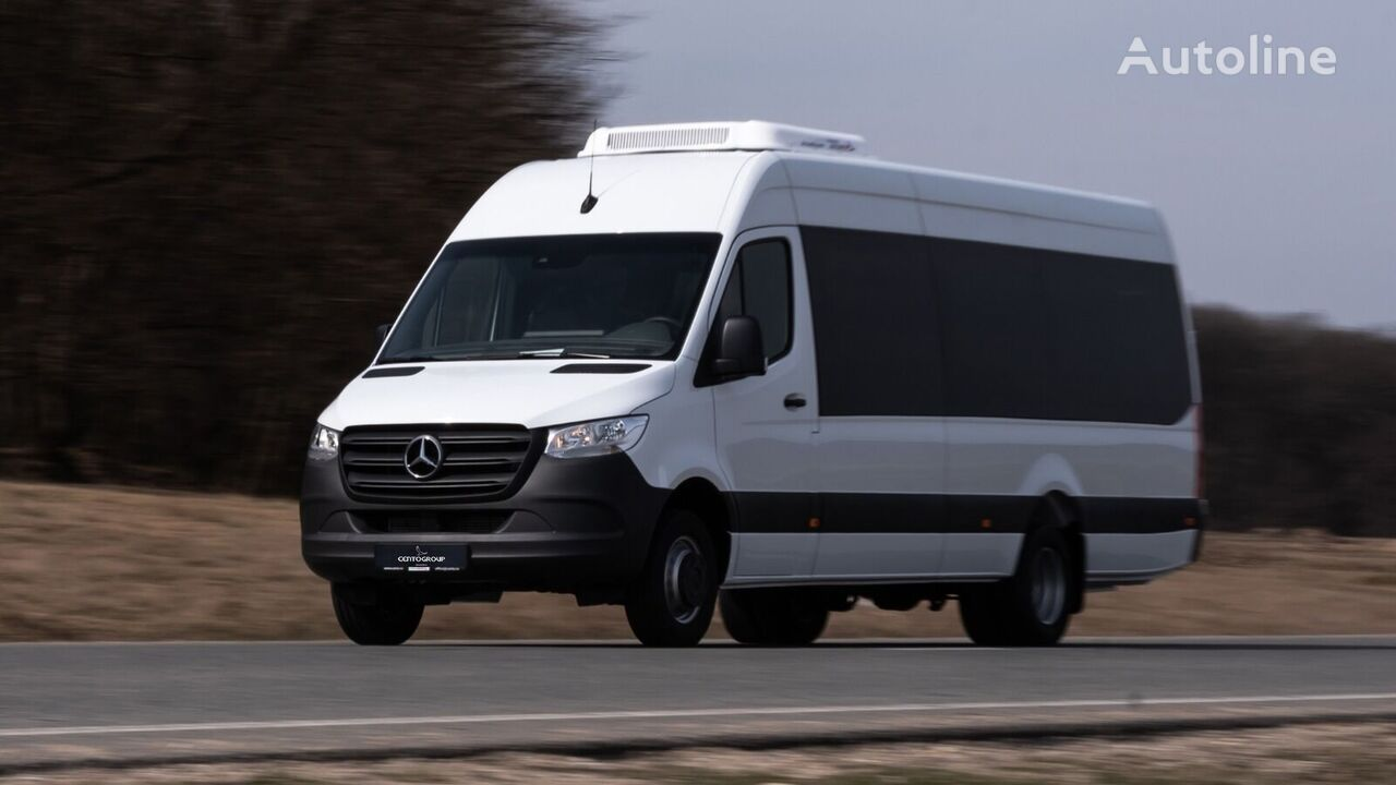 new MERCEDES-BENZ Sprinter 519 907 22+1+1 with COC! Made in Romania passenger van