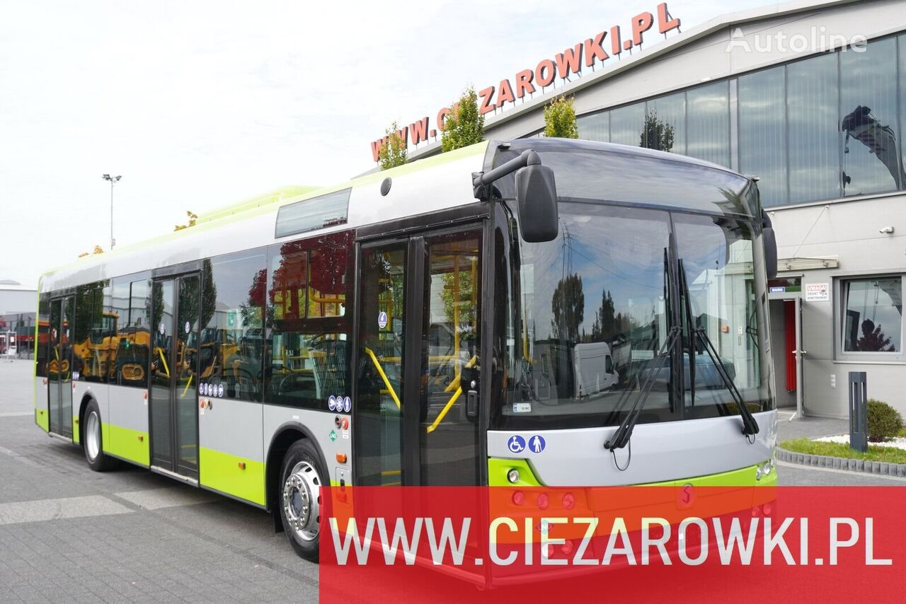 SOLBUS Solcity 12 LNG , 26 + 1 seats , 80 persons , city bus , LIKE NEW city bus