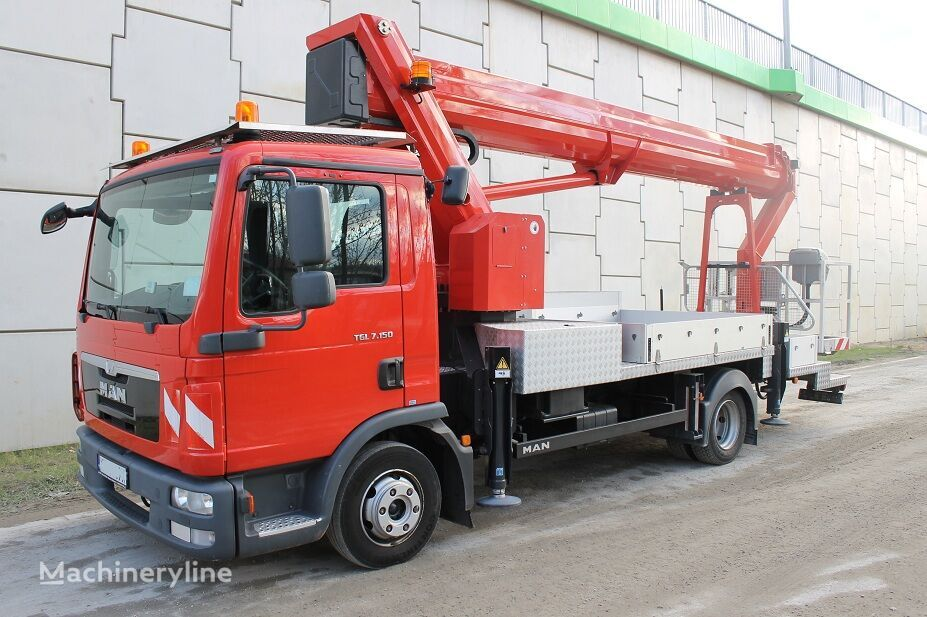 MAN TGL 7.150 33 m RUTHMANN T 330 jak Wumag Bison TKA Bronto Multite bucket truck