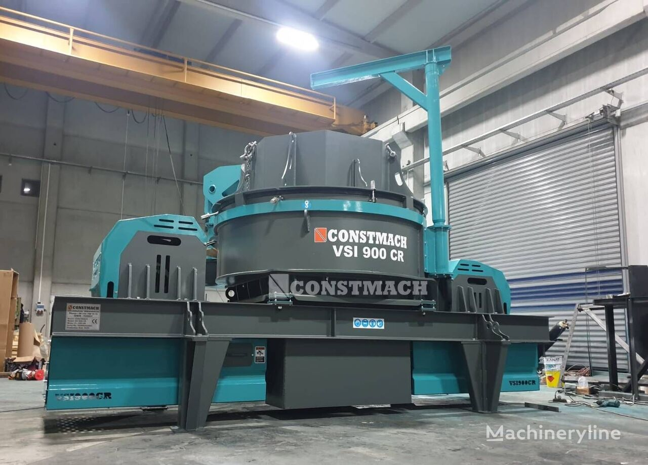 new CONSTMACH 250 TPH CAPACITY VERTICAL SHAFT IMPACT CRUSHER – VSI 900 CR crushing plant