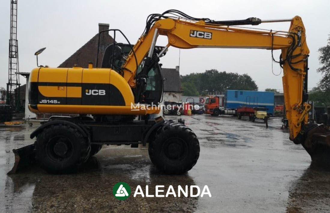 JCB JS145W wheel excavator