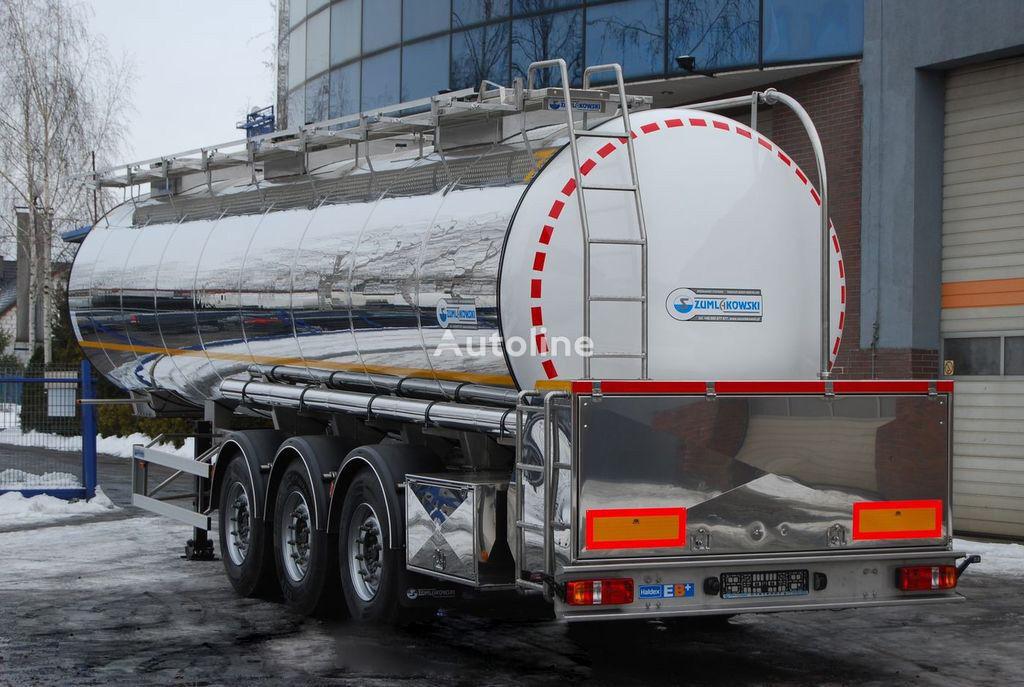 new SZUMLAKOWSKI NCSZ 32/3, PUMP, WEBASTO food tank trailer