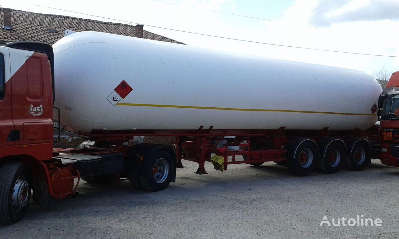 ACERBI 14 G 372 gas tank trailer