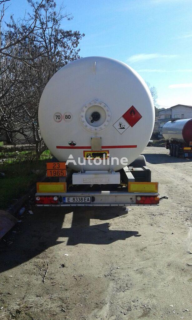 ACERBI 20 G 545 PA gas tank trailer