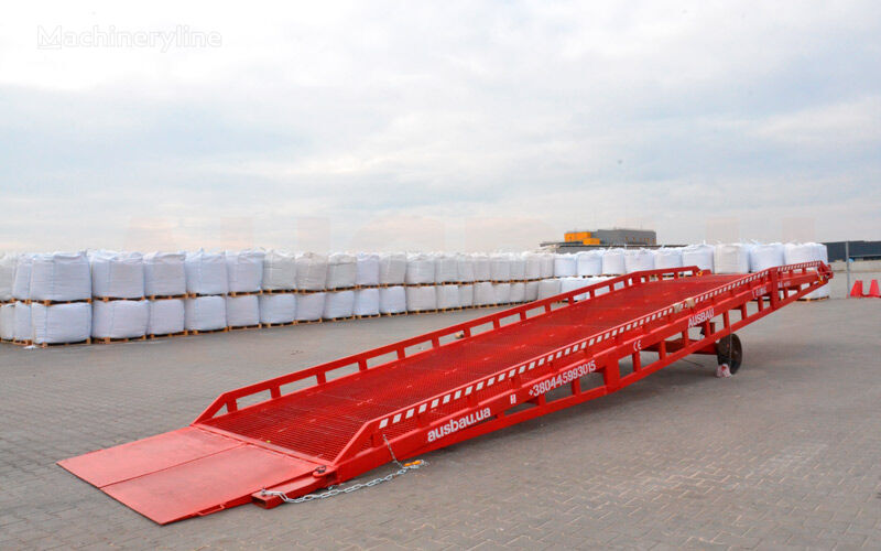 new AUSBAU Mobil lastramp, mobil ramp, lastramper, dock ramp mobile yard ramp