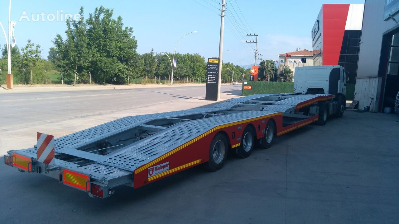 new Kalepar KLP334v1 car transporter semi-trailer