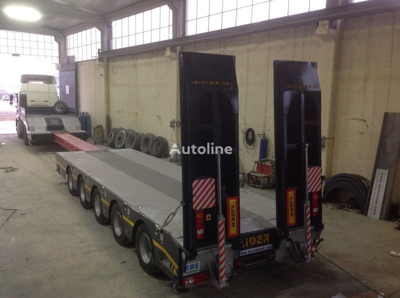 new LIDER NEW 2021 model new by manufacturer Ready in Stocks  low bed semi-trailer