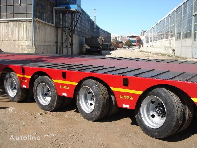 new LIDER 2020 MODELS YEAR NEW LOWBED TRAILER FOR SALE low bed semi-trailer
