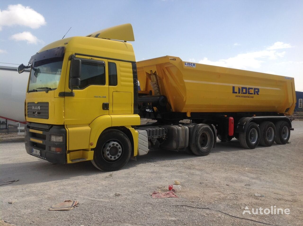 new LIDER 2020 NEW DIRECTLY FROM MANUFACTURER COMPANY AVAILABLE IN STOCK tipper semi-trailer