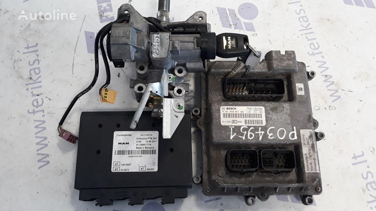 MAN D2676 EURO 5 ECU set control unit for MAN TGX tractor unit