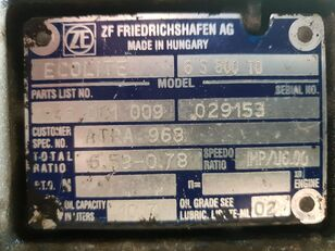 ZF 6S800TO (ATRA968) gearbox for DAF CF 65 LF 45  truck