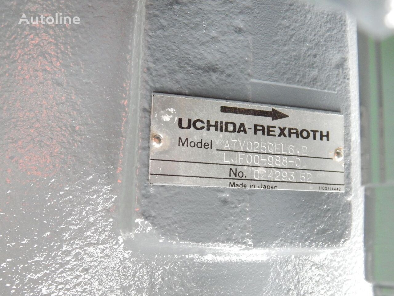 FIAT-HITACHI UCHIDA REXROTH A7V0250EL6. 2 UCHIDA REXROTH hydraulic pump for FIAT-HITACHI EX455 excavator