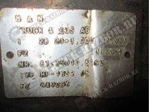 MAN заднего моста (81.35010.6193) reducer for MAN TGS  tractor unit