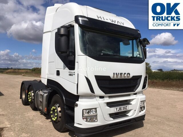 IVECO Stralis AS440S46TX/P tractor unit