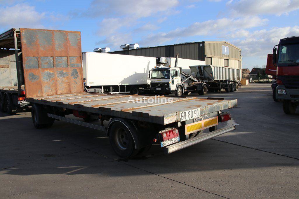 LECI TRAILER RG2 platform trailer