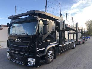 IVECO AT190S,460 E-6,Retarder + Kassbohrer APT003(rozsuwana), 9/10aut, car transporter + car transporter trailer