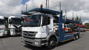 MERCEDES-BENZ 1829 6x2 autotransporter Kassbohrer Citytrans car transporter