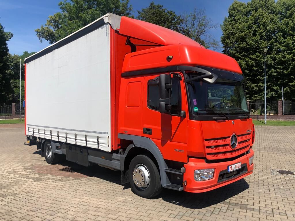 MERCEDES-BENZ 1530 ATEGO  curtainsider truck