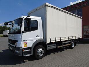 MERCEDES-BENZ ATEGO 1518 NL JAK NOWY tylko 71tys.km ład.8340kg WINDA curtainsider truck