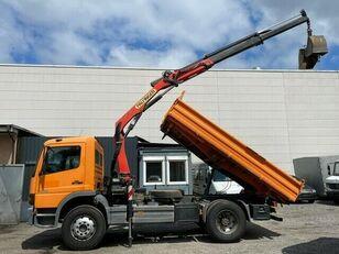 MERCEDES-BENZ Atego 1218 Darus 3 old Billencs Meiller felépítmény  dump truck