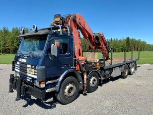 SCANIA P 113 H flatbed truck