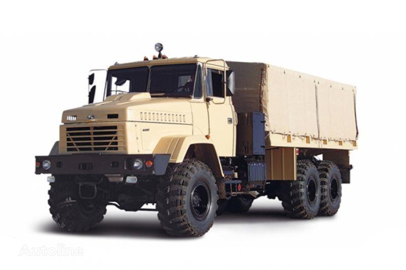 new KRAZ 6322 flatbed truck