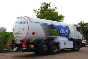 new MAN Эверласт gas truck