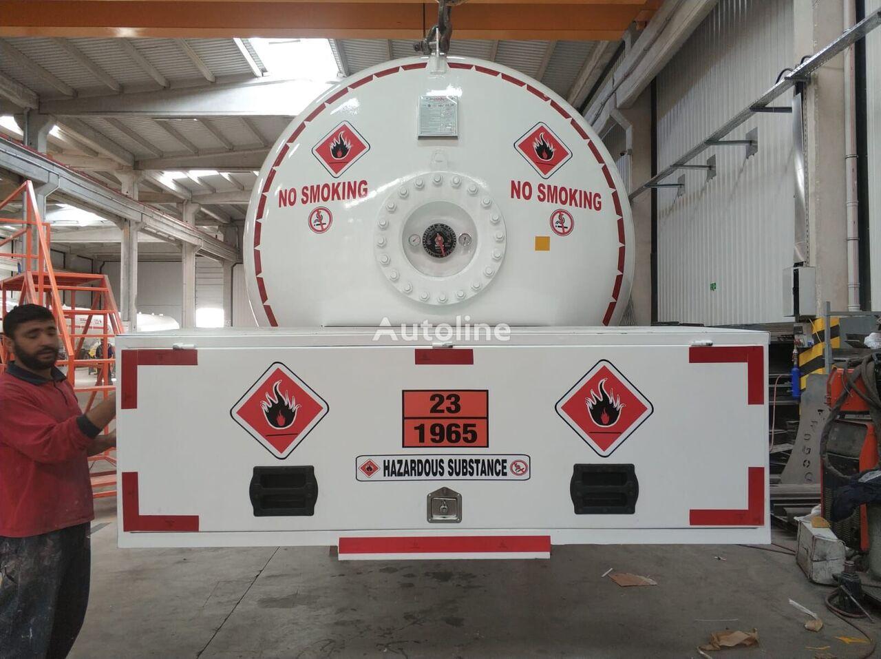 new MERCEDES-BENZ DOĞUMAK BOBTAIL ROAD TANK gas truck
