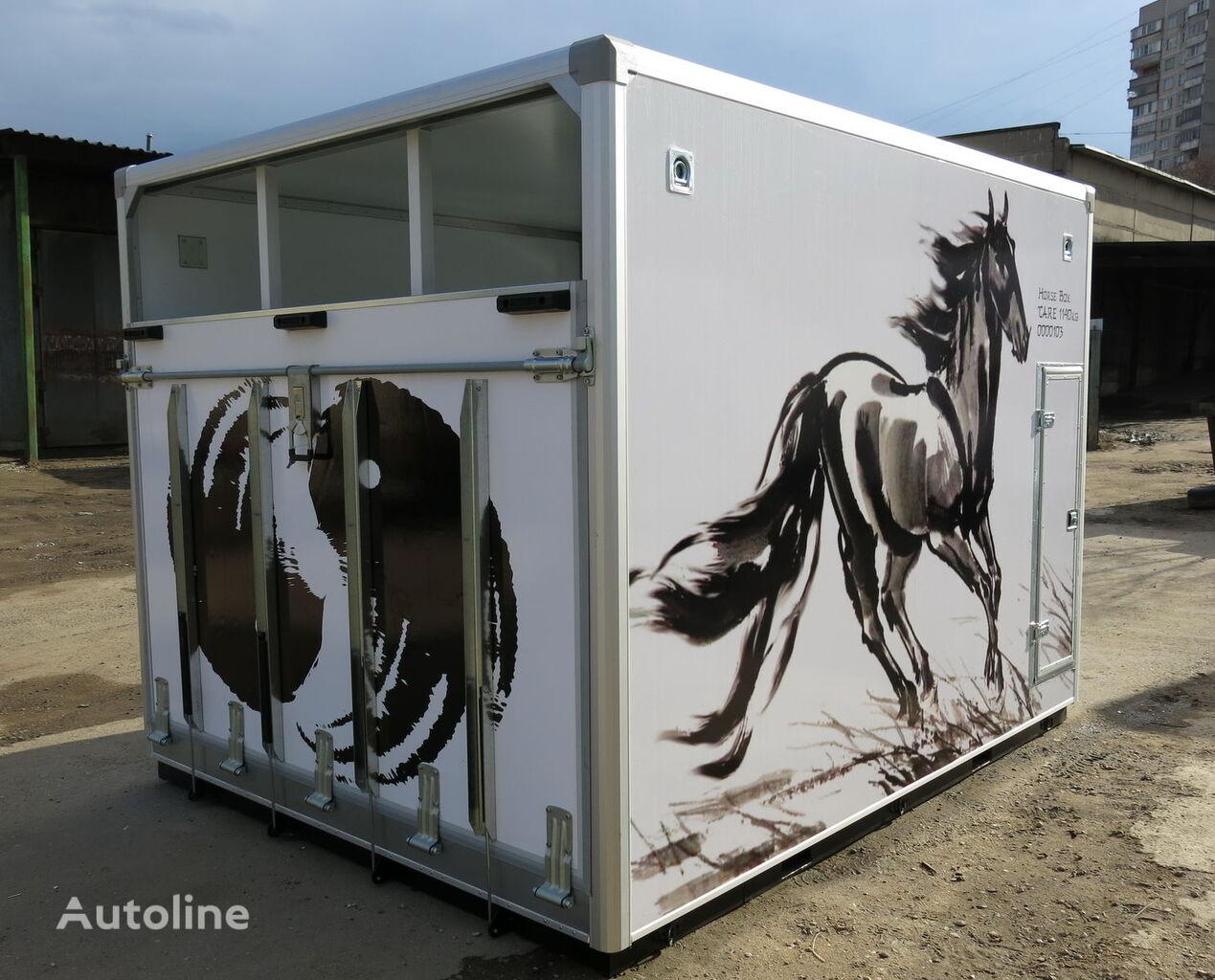 new ISTOK horse truck