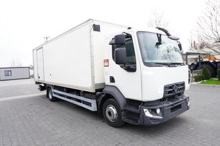 RENAULT D12 , E6 , 4x2 , Box 18 EPAL side door  , tail lift Dhollandia , isothermal truck