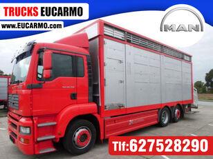 MAN TGA 26 350 livestock truck