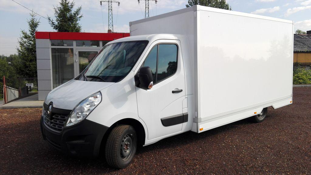 new OPEL Movano shop truck