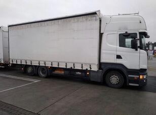SCANIA R450 komplet tilt truck + tilt trailer