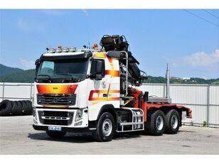VOLVO FH 16.750  Darus rönkszállító szerelvény timber truck