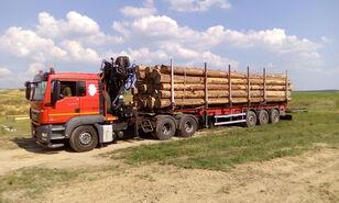 MAN TGS 26.480 6x4 BB timber truck