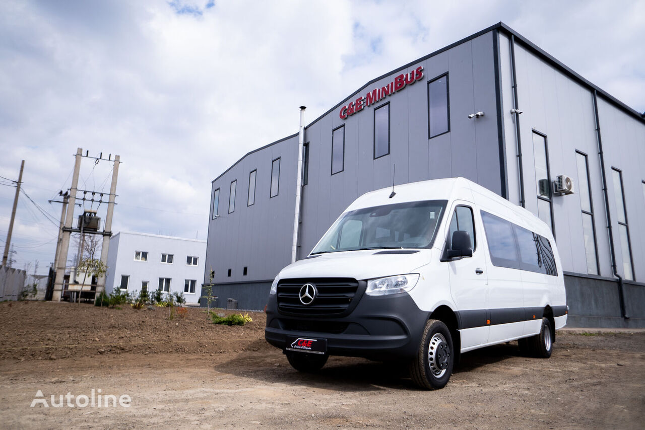 new MERCEDES-BENZ Sprinter passenger van