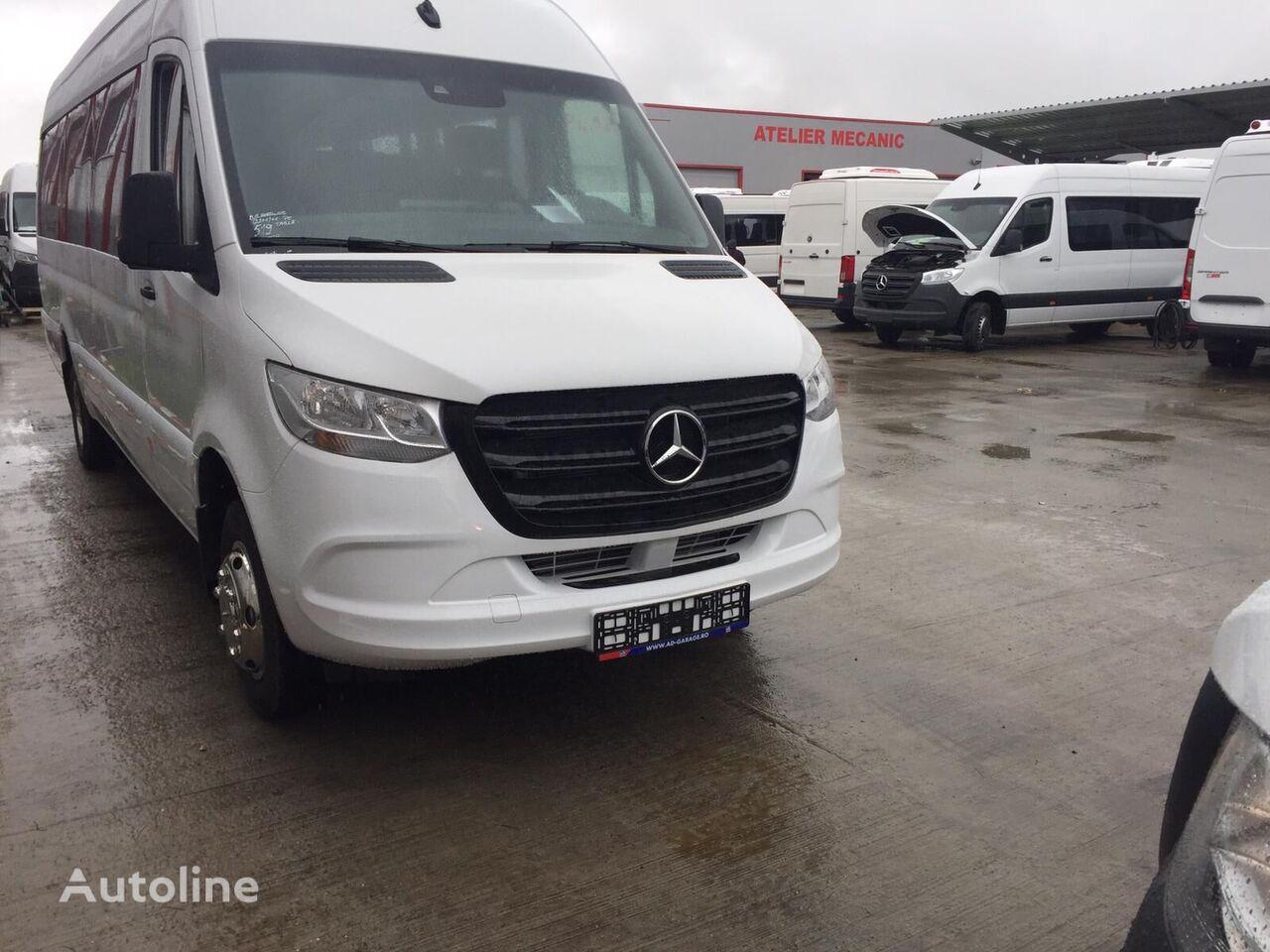 new MERCEDES-BENZ Sprinter IDILIS 516,  22+1+1  *COC*  prolonged with 50cm fiber/s passenger van